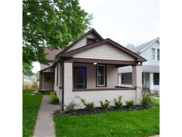 349 Lincoln Street, Indianapolis, IN 46225 (MLS #21481744) :: The ORR Home Selling Team