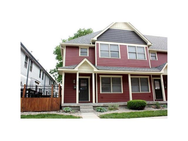 327 E 11th Street, Indianapolis, IN 46202 (MLS #21489359) :: Indy Scene Real Estate Team
