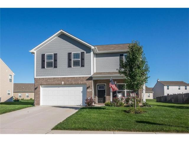 5937 Oakhaven Drive, Greenwood, IN 46142 (MLS #21490481) :: The Evelo Team