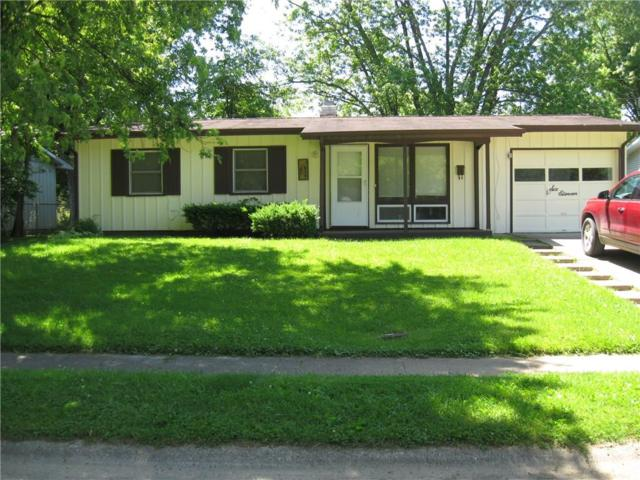 611 Hampton Lane, Chesterfield, IN 46017 (MLS #21491435) :: The ORR Home Selling Team