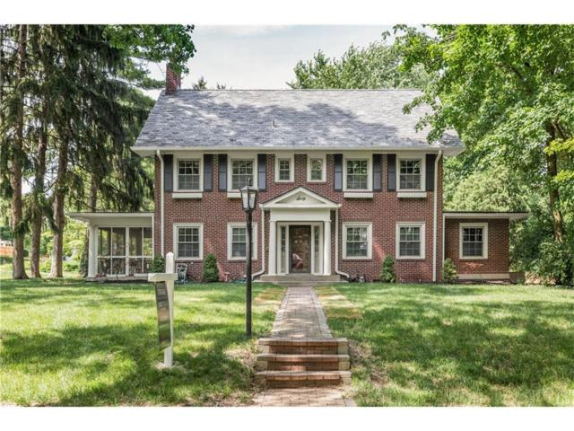 60 W 43rd Street, Indianapolis, IN 46208 (MLS #21491720) :: Indy Scene Real Estate Team