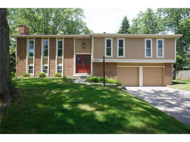 8206 Castleton Boulevard, Indianapolis, IN 46256 (MLS #21492897) :: Indy Scene Real Estate Team