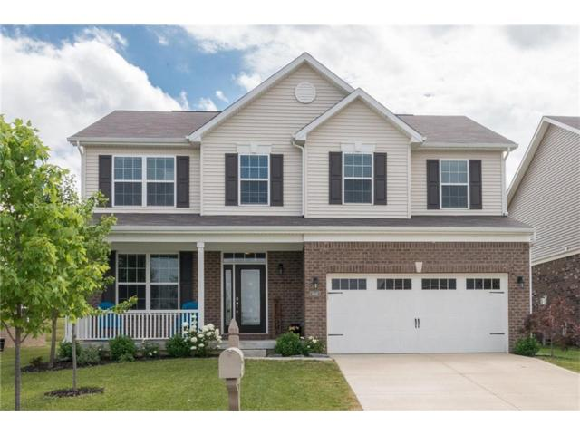 14011 Northcoat Place, Fishers, IN 46038 (MLS #21493152) :: The Evelo Team