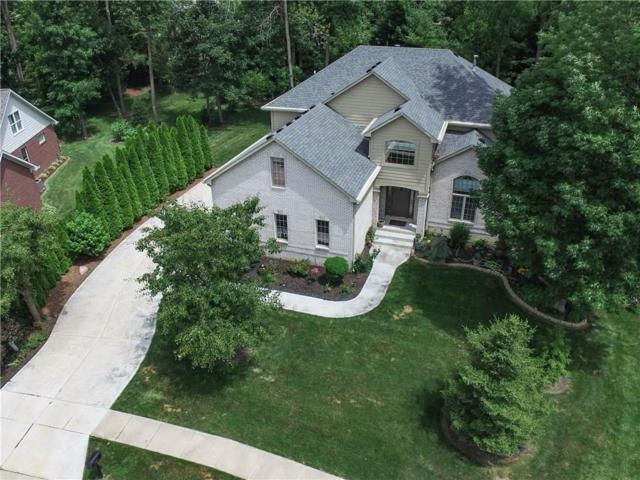 7619 Oak Grove Drive, Indianapolis, IN 46259 (MLS #21493540) :: RE/MAX Ability Plus