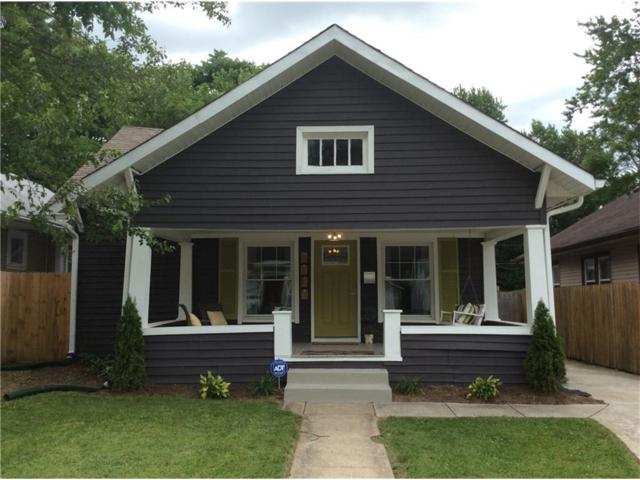 4353 N Guilford Avenue, Indianapolis, IN 46205 (MLS #21493781) :: Indy Scene Real Estate Team