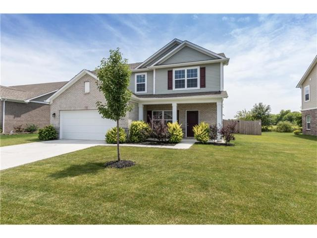 4699 W Lawrence Way, New Palestine, IN 46163 (MLS #21501215) :: RE/MAX Ability Plus