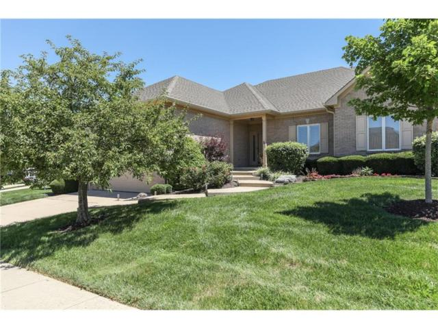 1487 Raver Court, Greenwood, IN 46143 (MLS #21501281) :: The Evelo Team
