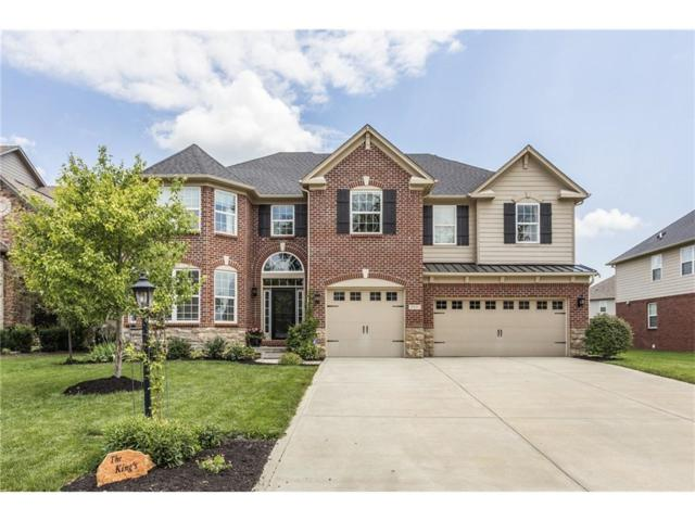 2807 Newbury Court, Zionsville, IN 46077 (MLS #21501521) :: The Gutting Group LLC