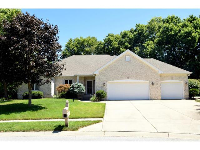 4552 Riviera Court, Greenwood, IN 46142 (MLS #21502524) :: The Evelo Team