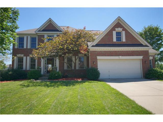 8813 Weather Stone Crossing, Zionsville, IN 46077 (MLS #21502714) :: The Evelo Team