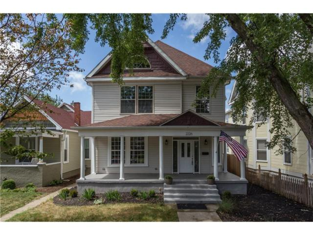 2226 N Talbott Street, Indianapolis, IN 46205 (MLS #21502795) :: Indy Scene Real Estate Team