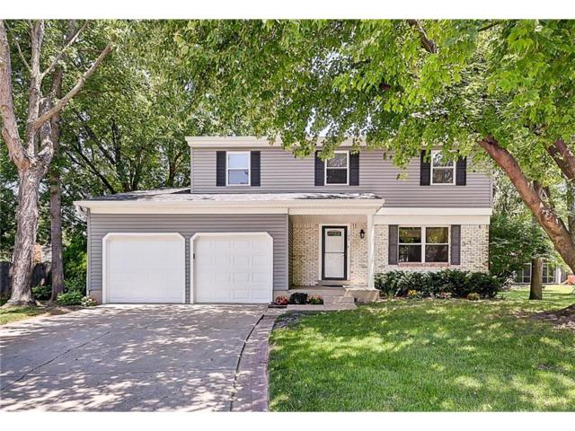 109 Timberlake Court, Fishers, IN 46038 (MLS #21502869) :: The Evelo Team