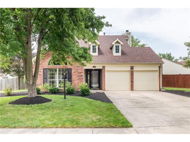 7716 Raleigh Lane, Fishers, IN 46038 (MLS #21502870) :: The Evelo Team
