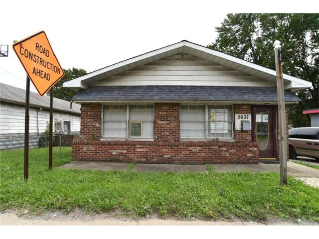 3637 W 10th Street, Indianapolis, IN 46222 (MLS #21502931) :: The Evelo Team