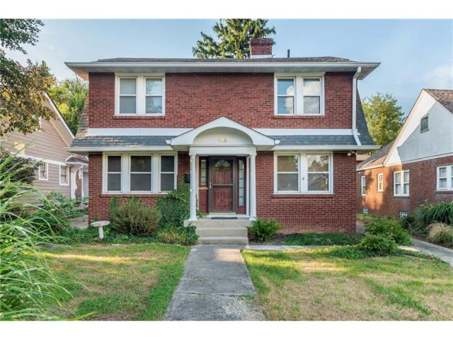 514 W 43rd Street, Indianapolis, IN 46208 (MLS #21504664) :: Indy Scene Real Estate Team