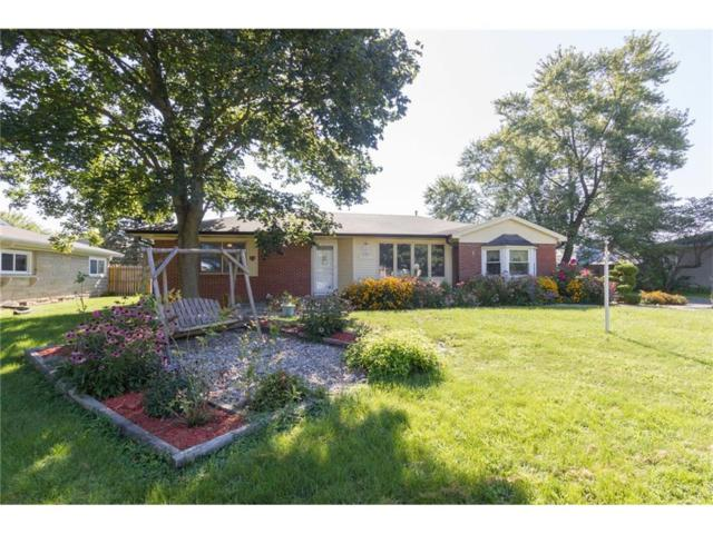 501 Emerson Drive, Fortville, IN 46040 (MLS #21505427) :: RE/MAX Ability Plus