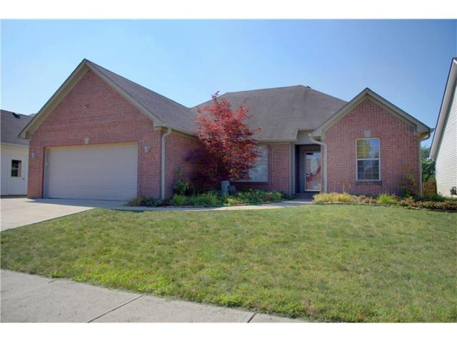 4349 W Summerhaven Drive, New Palestine, IN 46163 (MLS #21505714) :: RE/MAX Ability Plus