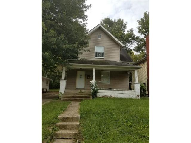 953 W 32nd Street, Indianapolis, IN 46208 (MLS #21505798) :: Indy Scene Real Estate Team