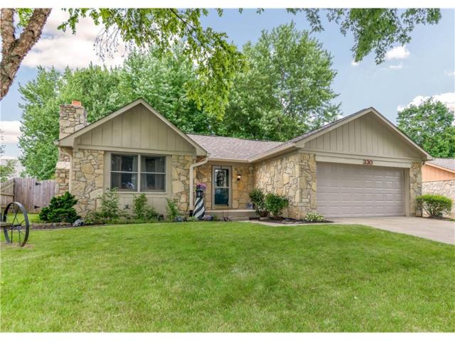 330 Morse Landing Drive, Cicero, IN 46034 (MLS #21506519) :: The Gutting Group LLC