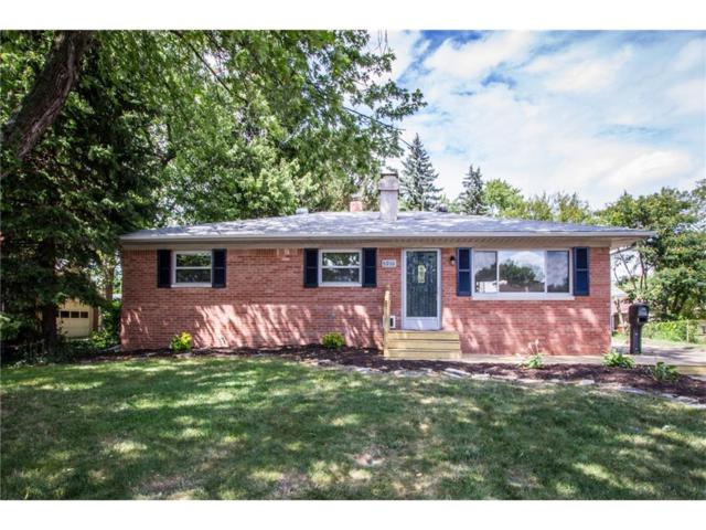 5910 Hollister Drive, Speedway, IN 46224 (MLS #21507217) :: Mike Price Realty Team - RE/MAX Centerstone