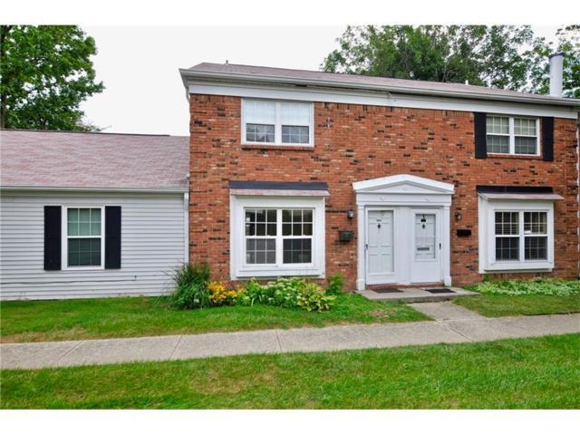 1605 Marborough Lane, Indianapolis, IN 46260 (MLS #21507937) :: Indy Scene Real Estate Team