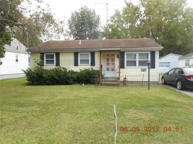 2521 E 6th Street, Anderson, IN 46012 (MLS #21511538) :: Indy Scene Real Estate Team