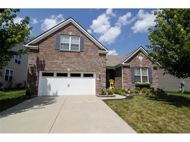 6106 Mountain Hawk Drive, Zionsville, IN 46077 (MLS #21512991) :: The Evelo Team