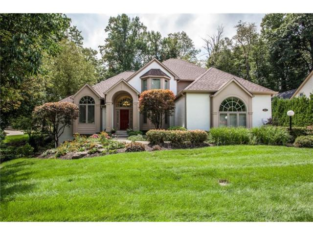 11613 Summit Circle, Zionsville, IN 46077 (MLS #21513686) :: The Evelo Team