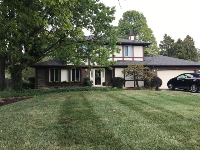 888 Briarwood Drive, Greenwood, IN 46142 (MLS #21513689) :: The Evelo Team