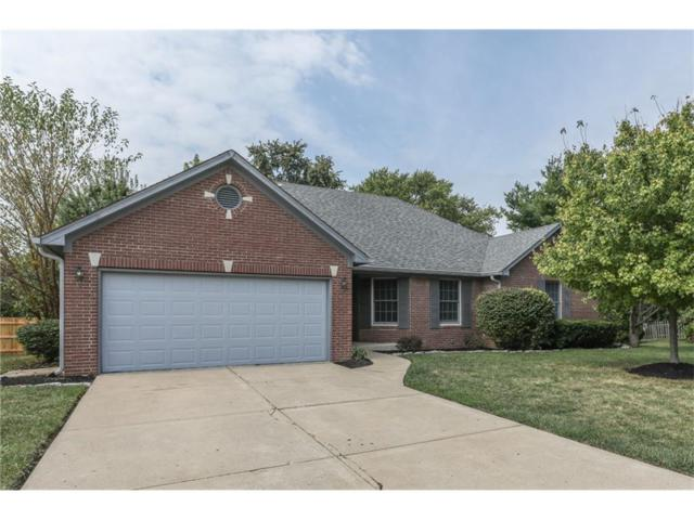 1222 Mount Brook Court, Greenwood, IN 46143 (MLS #21513714) :: The Evelo Team