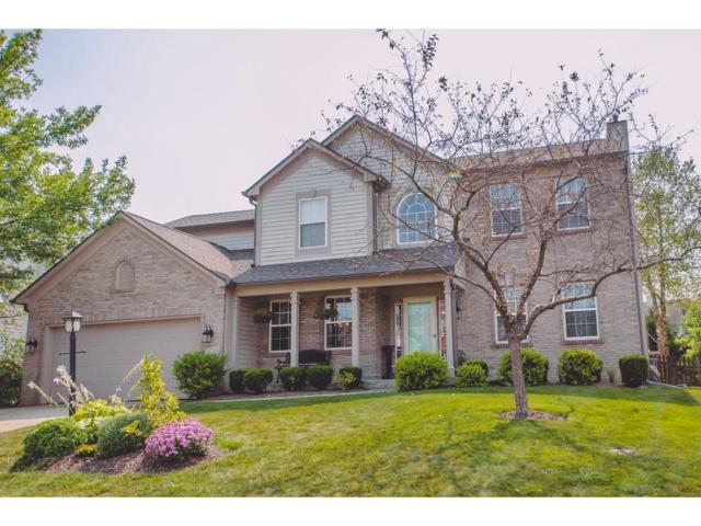 12323 Cobblefield Court, Fishers, IN 46037 (MLS #21513895) :: The Evelo Team