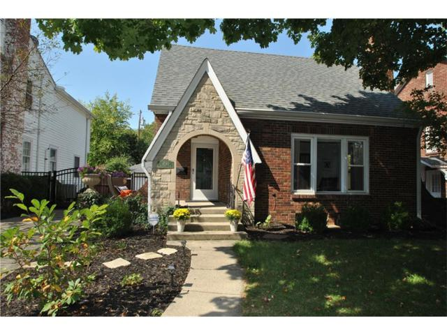 4740 Boulevard Place, Indianapolis, IN 46208 (MLS #21514039) :: Indy Scene Real Estate Team