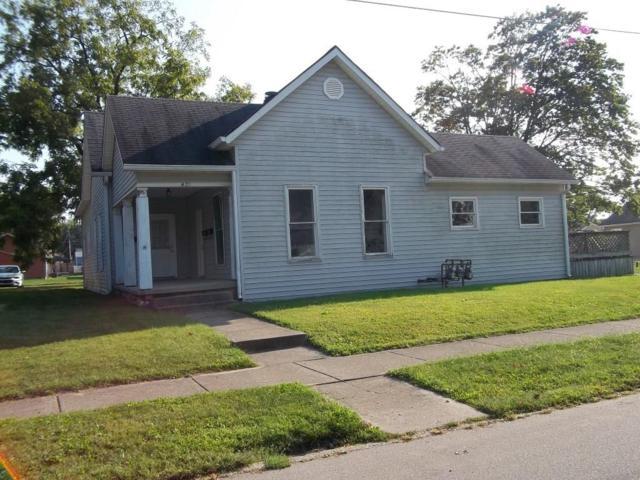 421 W Fifth Street, Greenfield, IN 46140 (MLS #21514416) :: Indy Plus Realty Group- Keller Williams