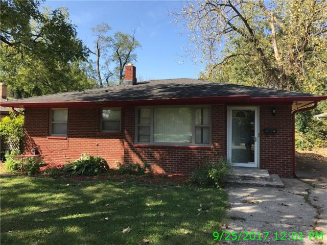 3910 N Irvington Avenue, Indianapolis, IN 46226 (MLS #21514767) :: The Gutting Group LLC