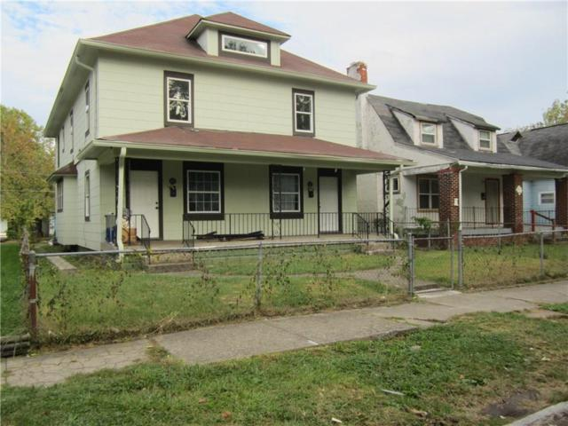41&43 N Euclid Avenue N, Indianapolis, IN 46201 (MLS #21517908) :: Indy Scene Real Estate Team