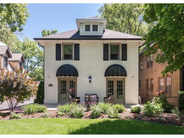 4123 N Illinois Street, Indianapolis, IN 46208 (MLS #21518285) :: The Evelo Team