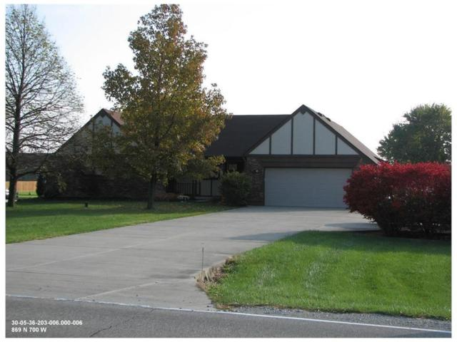 869 N 700 W, Greenfield, IN 46140 (MLS #21518510) :: RE/MAX Ability Plus