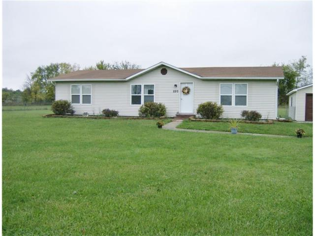 220 E State Road 28, Alexandria, IN 46001 (MLS #21518582) :: The ORR Home Selling Team
