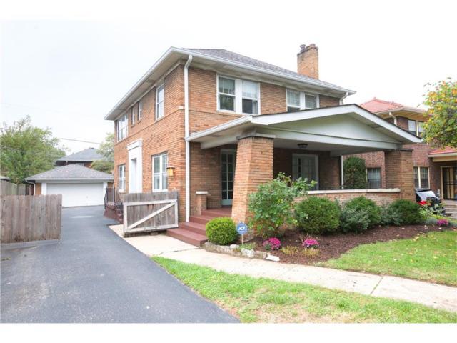 3652 N Delaware Street, Indianapolis, IN 46205 (MLS #21518762) :: Indy Scene Real Estate Team