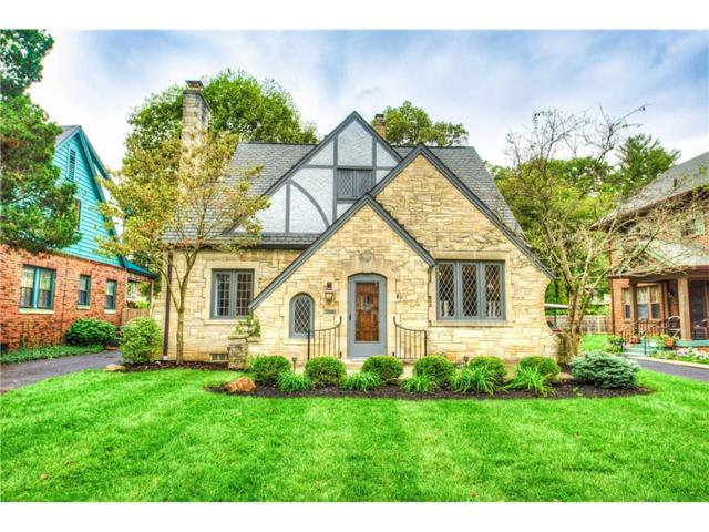 5108 N Illinois Street, Indianapolis, IN 46208 (MLS #21518844) :: Indy Scene Real Estate Team