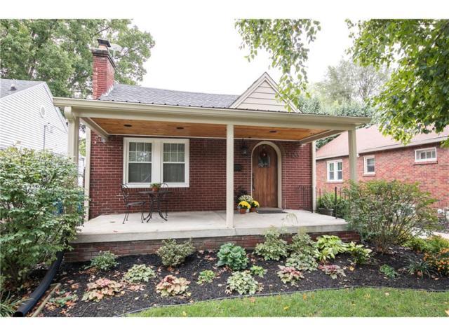 6133 Indianola Avenue, Indianapolis, IN 46220 (MLS #21518963) :: Indy Scene Real Estate Team