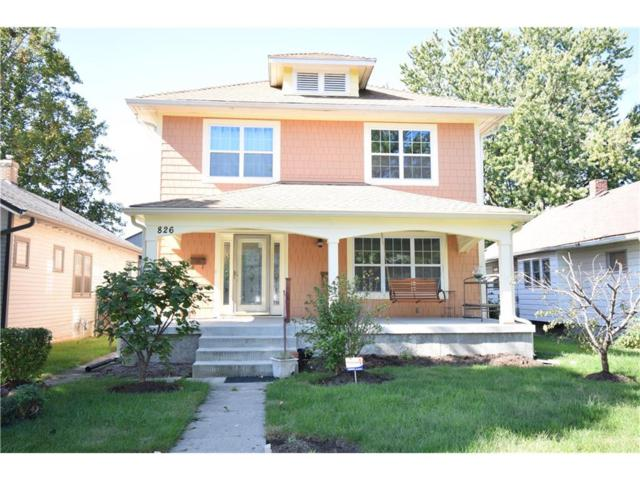 826 N Bancroft Street, Indianapolis, IN 46201 (MLS #21519275) :: Indy Scene Real Estate Team