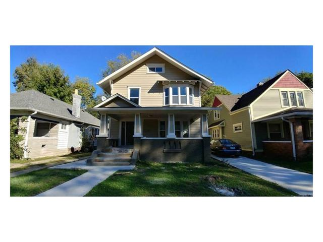 3931 N Capitol, Indianapolis, IN 46208 (MLS #21519712) :: Indy Scene Real Estate Team