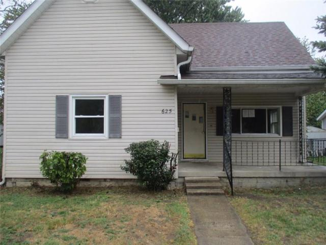 625 N Spring Street, Greenfield, IN 46140 (MLS #21519735) :: RE/MAX Ability Plus