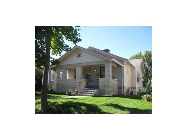 810 N Riley Avenue, Indianapolis, IN 46201 (MLS #21519779) :: Indy Scene Real Estate Team