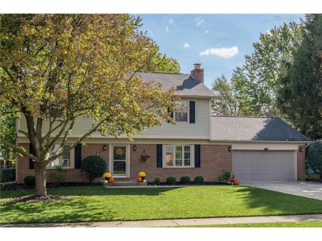 815 Sunblest Boulevard, Fishers, IN 46038 (MLS #21520241) :: The Evelo Team