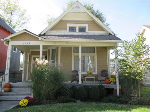 2226 N Delaware Street, Indianapolis, IN 46205 (MLS #21520249) :: Heard Real Estate Team