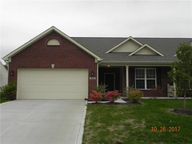 415 Angelina Way, Avon, IN 46123 (MLS #21522364) :: The ORR Home Selling Team