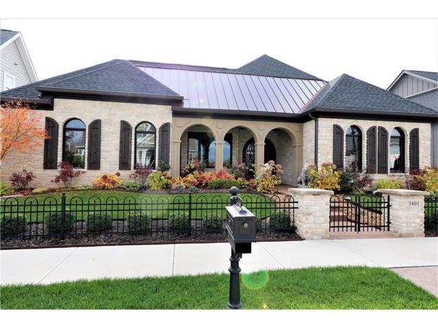 3401 Woodham Place, Carmel, IN 46033 (MLS #21523786) :: The Gutting Group LLC