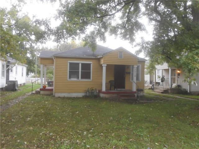 3518 W 10th Street, Indianapolis, IN 46222 (MLS #21523793) :: The Evelo Team